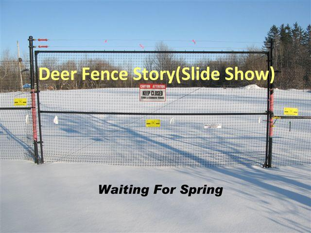 Deer Fence Slide Show